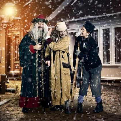 Et Juleeventyr, beskåret plakat foto Jakob Boserup, grafik Dennis Westerberg